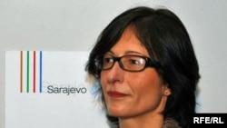Florence Hartmann, former spokeswoman for ICTY chief prosecutor Carla Del Ponte