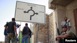 Либиските бунтовници во Завиџан