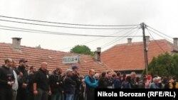 Протест против устоличувањето на владиката Јоаникиј во Будва, август 2021