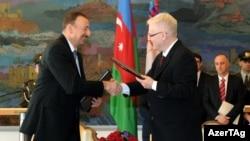 İlham Əliyev və İvo Josipoviç