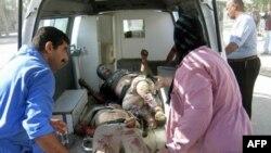 در بمبگذاری روز دوشنبه در عراق ۷۲ نفر زخمی شدند. (عکس: AFP)
