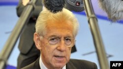 Italian Prime Minister Mario Monti is due to meet with his Russian counterpart Dmitry Medvedev and Russian President Vladimir Putin.