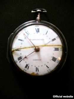 Годинник Григорія Сковороди (фото з архівів Національного літературно-меморіального музею Григорія Сковороди)