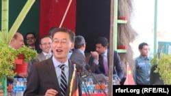 په افغانستان کې د چین سفیر چینک شینک