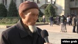 Этнический казах из Китая Насихат Адиулы. Алматы, 25 октября 2017 года.