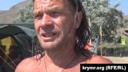Турист із Москви Юрій