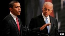 Barak Obama i senator Džozef Bajden