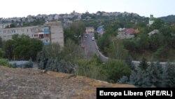 Vedere spre oraș de la Cetate