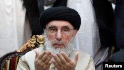 Гульбеддин Хекматияр, афганский военачальник и глава группировки «Хизб-и-Ислами».