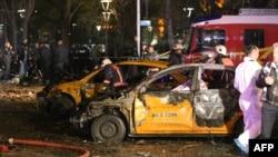 В центре Анкары рядом с парком Kizilay произошел взрыв. 13.03.2016.