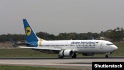 Ukraine -- International Airlines Boeing 737-8HX ©Shutterstock