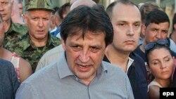 Serbian Defense Minister Bratislav Gasic