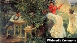 Францішак Купка, «Аматар кніг» (1897).