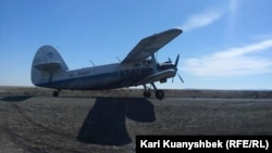 Kazakh authorities said the Russian-made AN-2 plane crashed near a village about 70 kilometers ast of the capital, Nur-Sultan. (file photo)