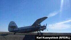 Самолет Ан-2 в Казахстане