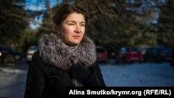 Ahtem Çiygoznıñ ömür arqadaşı Elmira Ablâlimova