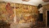 Уже на этапе расчистки росписей Маслова реставраторы поняли, что перед ними шедевр