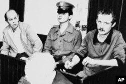 Судовы працэс над апазыцыянэрамі Яцакам Куранем і Адамам Міхнікам, 1984 год