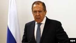 Ресей сыртқы істер министрі Сергей Лавров.