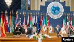 «کنفرانس بینالمللی تعهدات کمکهای انساندوستانه به سوریه». کویت، ۱۵ ژانویه ۲۰۱۴.