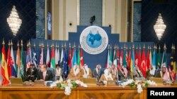 Pamje nga një konferencë e mëparshme ndërkombëtare e donatorëve për Sirinë në Kuvajt