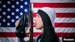 Конькобежец Патрик Мик – член олимпийской сборной США