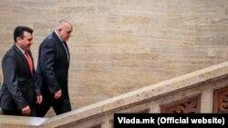 Makedonski premijer Zoran Zaev (levo) i njegov bugarski kolega Bojko Borisov