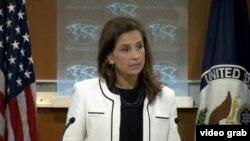 الیزابت ترودو، سخنگوی وزارت امور خارجه آمریکا