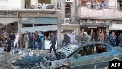 Pamje e dëmtimeve nga konflikti në Siri