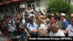 Protesti u Skoplju zbog mogućeg rušenja crkve