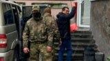 Задержание Эмиля Курбединова 6 декабря 2018 года