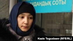 Шынар Бисенбаева. Алматы, 21 қаңтар 2014 жыл.