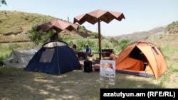 Ցուցարարների վրանային ճամբարը