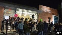Pamje nga një protestë e mëparshme në Ferguson