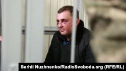 Олександр Шепелев під час засідання суду, 9 лютого 2018 року