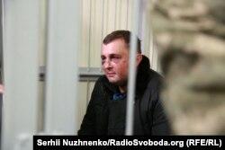 Колишній депутат Верховної Ради Олександр Шепелев після затримання в лютому 2018 року