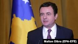 Косовскиот премиер Албин Куртин