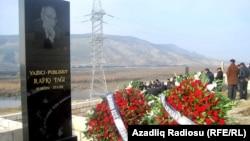 Rafiq Tağının məzarı, 2 yanvar 2012