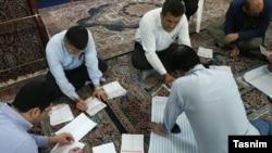 تصویری از شمارش آرای انتخاباتی در تهران