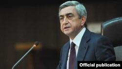 Նախագահ Սարգսյանի ելույթը ԱԳՆ կենտրոնական ապարատի եւ արտերկրում Հայաստանի դիվանագիտական ներկայացուցչությունների ղեկավարների հետ հանդիպմանը, 30-ը օգոստոսի, 2011թ․