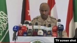 احمد عسيری، سخنگوی ائتلاف به رهبری عربستان،