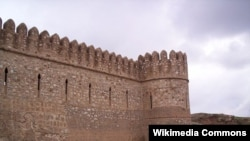 أحد أجزاء قلعة كركوك