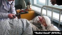 Сайфуллозода в больнице им. Дьякова г. Душанбе