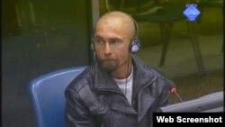 Zlatko Antunović svjedoči na suđenju Goranu Hadžiću, 16. listopad 2012.