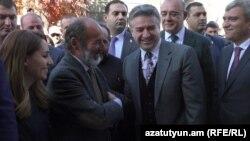 Премьер-министр Карен Карапетян в Гюмри, 18 октября 2017 г․