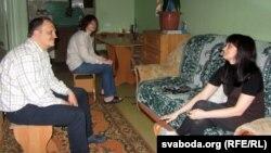 Сям'я Сьвятланы Дзядовай