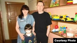 Таисия Осипова на свидании с семьей в колонии