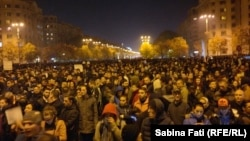 Акція протесту в Бухаресті, 4 листопада 2015 року