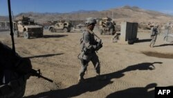 U.S. soldiers on patrol in the strategic Wardak Province. Afghan President Hamid Karzai's order for all U.S. Special Forces to leave the area has taken NATO military planners by surprise. (file photo)
