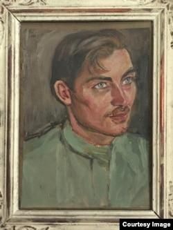 Портрет Вацлава Фиалы работы Давида Бурлюка (1921)